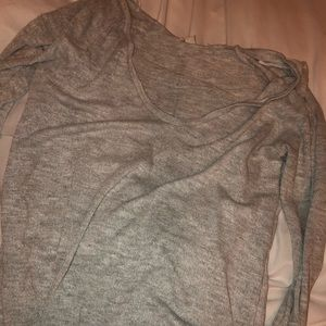 American Eagle scoop neck sweater (form fitting)
